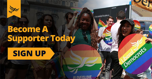 Support the Lib Dems